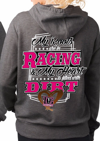 My Roots Are In Racing Hoodie