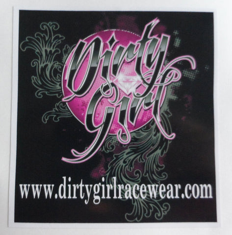 Dirty Girl Decal