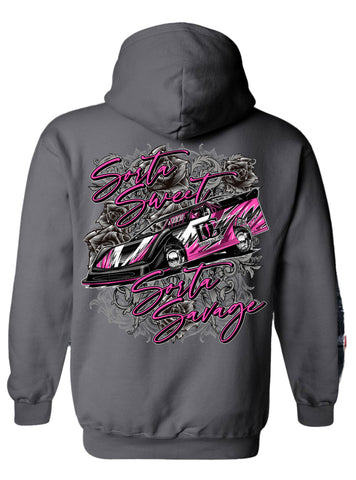 Sweet & Savage Dirt Late Model Hoodie