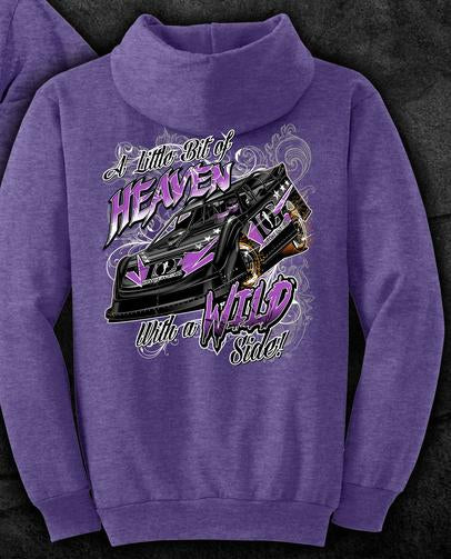 Dirty Girl Racewear Wild Side Dirt Late Model Hoodie