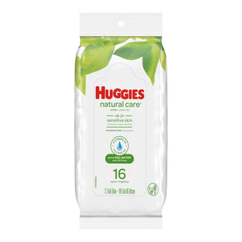 HUGGIES Natural Care Wipes 16片試用裝