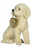 POODLE WITH CLOCK
