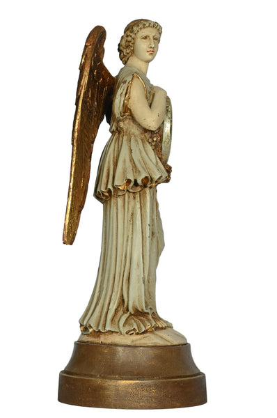 REREDOS ANGEL WITH CLOCK