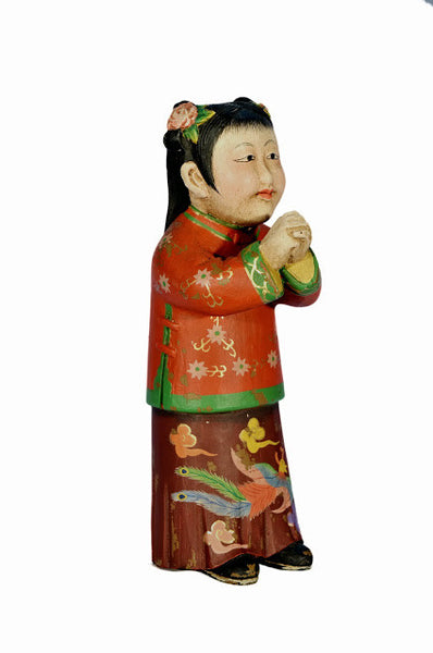 Chinese Girl Figure