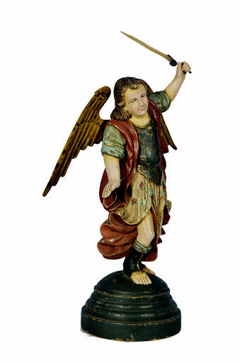 Spanish Archangel Michael With Sword