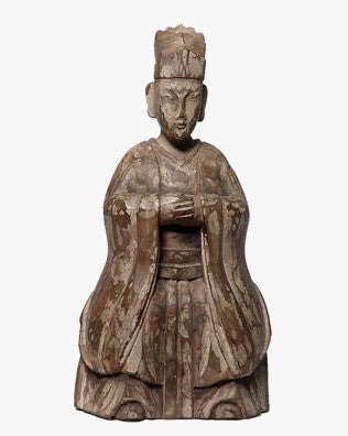 ANCIENT CHINESE EMPRESS ANTIQUE WHITE