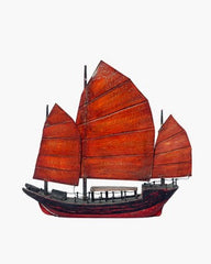 CHINESE JUNK BOAT, SMALL