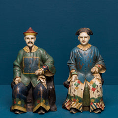 Qianlong Emperor & Empress set of 2