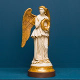 REREDOS ANGEL WITH WREATH