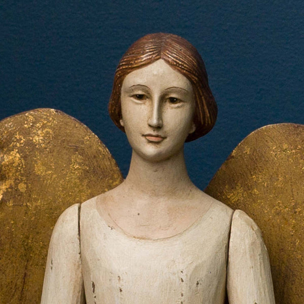 ANGEL MARIANNE SMALL, ANTIQUE WHITE FINISH
