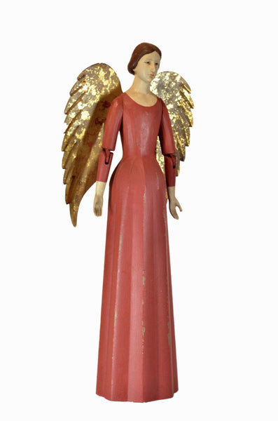 ANGEL MARIANNE SMALL, RICH RED FINISH