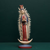 OUR LADY OF GUADALUPE ON MOON