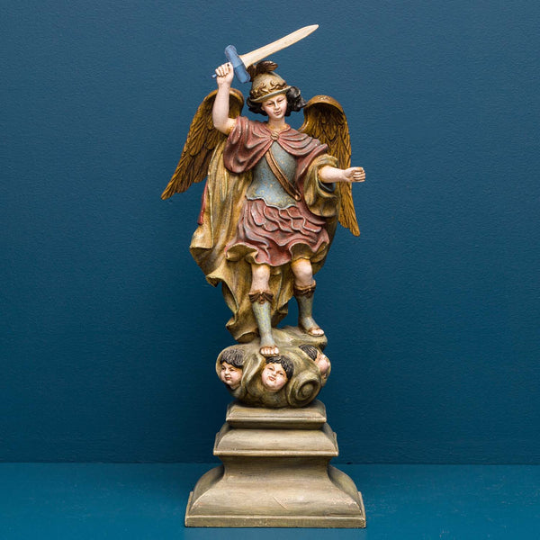 ST MICHAEL A ANGEL LATE 18TH CENT.