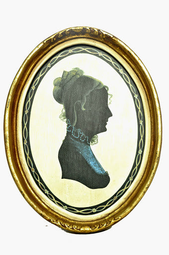 FRAMED VICTORIA SILHOUETTE