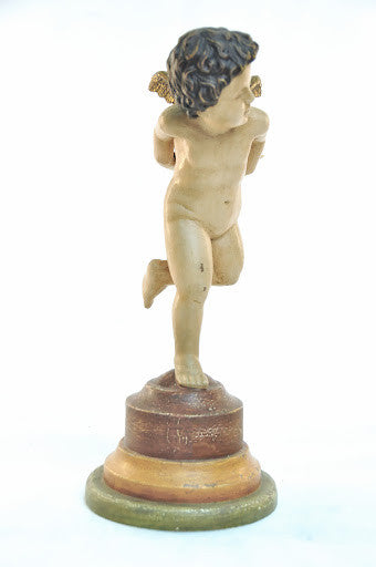 Putto Candleholder, Right (with Glass)