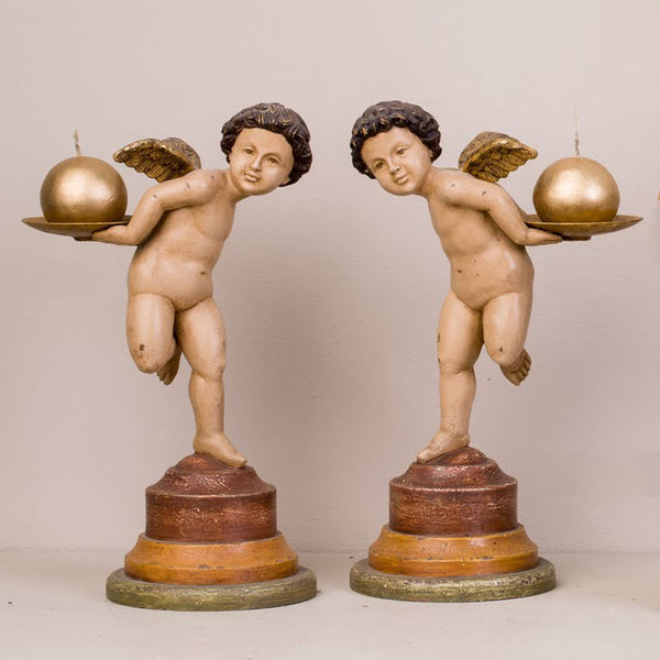 PUTTO CANDLEHOLDER S/2