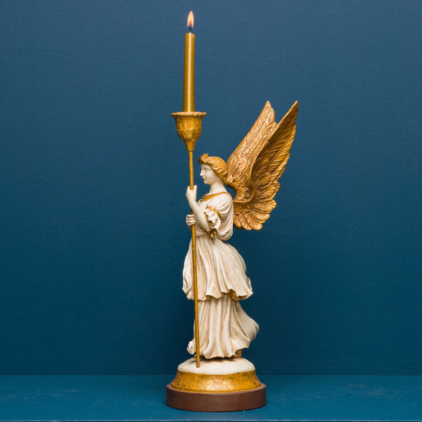 REREDOS ANGEL WITH CANDLE HOLDER LEFT