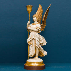 REREDOS ANGEL WITH CANDLE HOLDER RIGHT