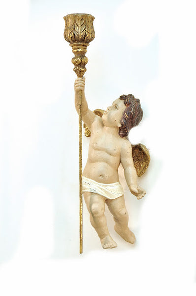 Ascending Putto Sconce