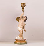 ASCENDING PUTTO CANDLEHOLDER