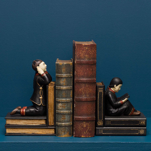YING & YANG BOOKENDS