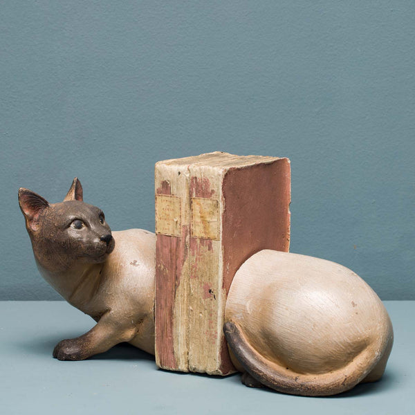 TONKINESE CAT BOOKENDS