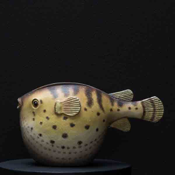 NORTHERN PUFFER FISH MINI CONTAINER