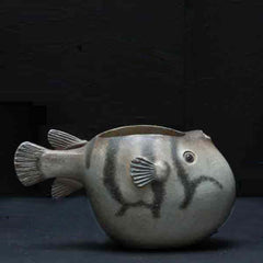 BLOW PUFFER FISH MINI CONTAINER
