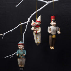 NOEL ORNAMENTS, SET OF 3