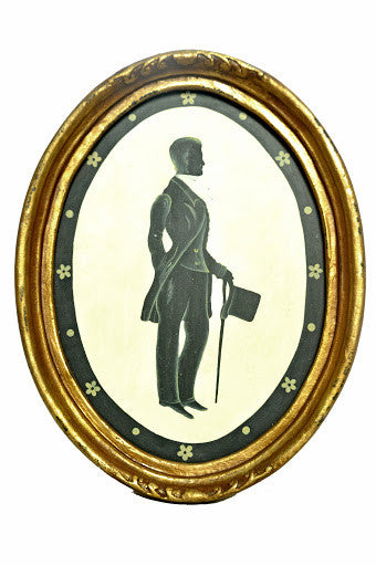 Framed William Silhouette