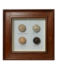 1920'S GOLF BALLS SHADOW BOX
