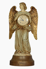 REREDOS ANGEL WITH CLOCK, as a decor