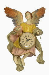 CRECHE ANGEL WITH CLOCK