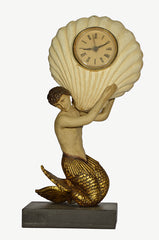 TRITON WITH SCALLOP CLOCK