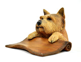 NORWICH TERRIER CARD HOLDER