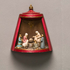 MINI NATIVITY FLANDERS, RED