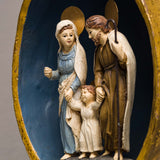 HOLY FAMILY IN EGG