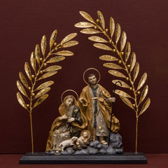 GUELDER NATIVITY WITH OLIVE TREE DÉCOR