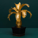 BOTTLE PALM TREE DECOR