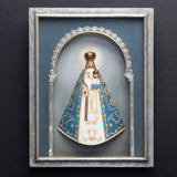 LA VIRGEN DELA MERCED SHADOW BOX