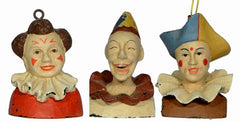 JACK, RANDY & GIANDUJA ORNAMENTS (set of 3)