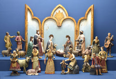 VALENCIA NATIVITY, SET OF 25