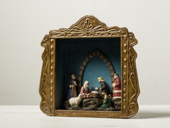 MINI NATIVITY IN RETABLO