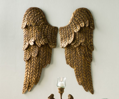 LARGE TIN WINGS, LEFT & RIGHT