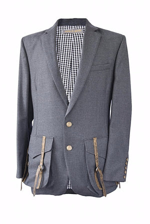 Sample Sale:Henry men's wool Blazer - Ocha and Garth
