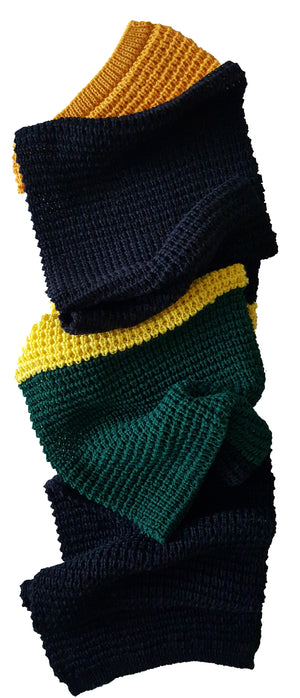 Engineered Garments Ocha's Block Stripe Wool Scarf - Ocha and Garth
