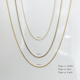 Earth Necklace Gold