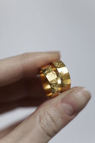 Moon Ring Gold (Slender)