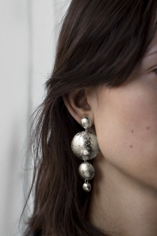 Moon Globe Earrings