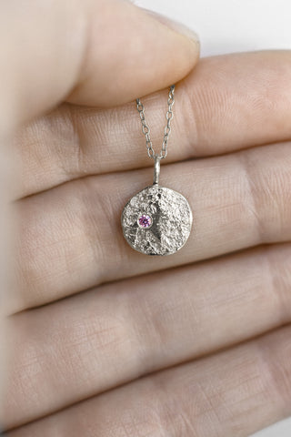Mini Full Moon Necklace